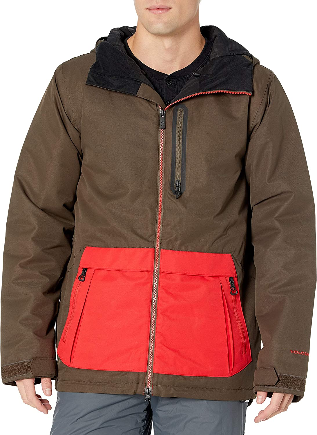 Volcom Men's Deadly Stones Insulated Snowboard Jacket : Clothing, Shoes & Jewelry
