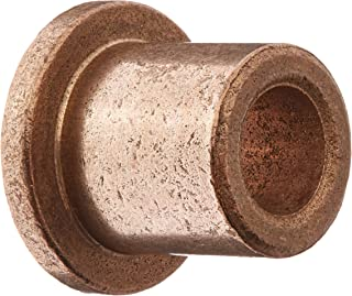 Bunting Bearings FFB610-6 Flanged Bearings, Powdered Metal, SAE 841, 3/8