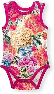 Earthy Organic Baby Sleeveless Bodysuit Boy Girl (8 Sizes: Preemie-24M) 100% Organic Cotton