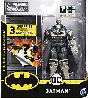 DC Batman 2020 Batman Heavy Armor Dark Gray 4-inch Action Figure by Spin Master