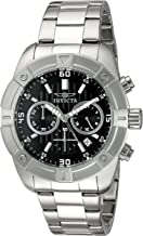 Invicta Men's 21466 Specialty Analog Display Japanese Quartz Silver-Tone Watch