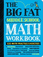 The Big Fat Middle School Math Workbook: Studying with the Smartest Kid in Class