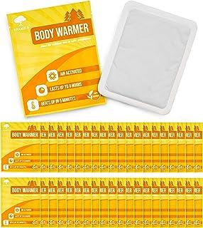 comprar comparacion Paquete de 40 Calentadores de Cuerpo Ecológicos - Parches de calor activados por aire de hasta 10 horas de calor.