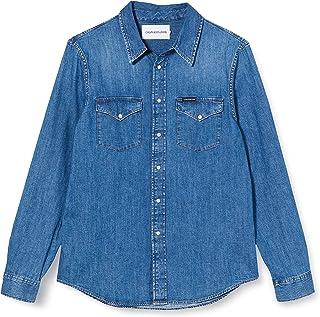Calvin Klein Jeans Men's Modern Western Shirt Casual