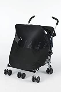 Protect-a-Bub Twin Deluxe 3 in 1 Sunshade, Black