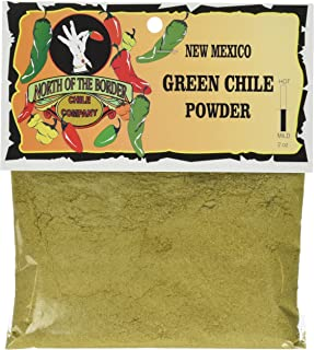 North of the Border New Mexico Green Chile Powder