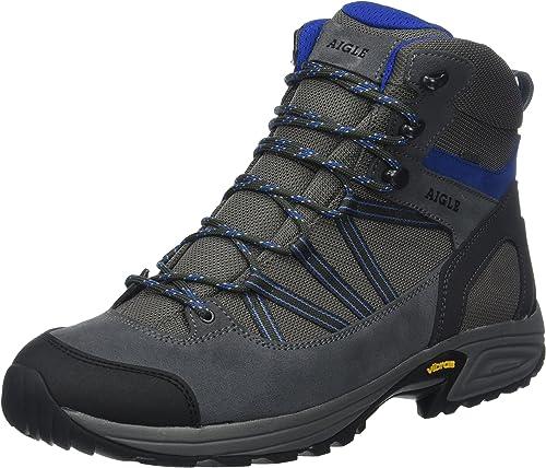 Aigle Mooven Mid Gore-tex, Chaussures de Randonnée Hautes Homme