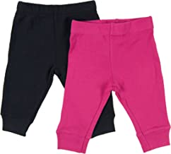 Leveret Solid Baby Crawling Pants & Legging Set Kids Baby Pants (Size 3-24 Months) Variety Colors
