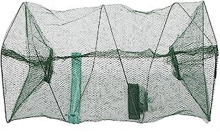 Saltwater Freshwater Fish Crayfish Crawdad Crab Lobster Prawn Trap Net