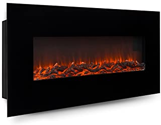 Best wall mounted indoor fireplace Reviews