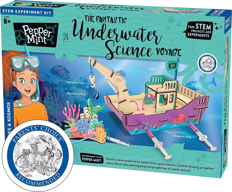 Multicolor 626037 Pepper Mint in The Fantastic Underwater Science Voyage Kit de Experimento cient/ífico Thames /& Kosmos