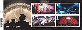 Pink Floyd UFO Club, Dark Side of the Moon, The Wall, Division Bell Tours Sheet Collectible Postage Stamps Royal Mail