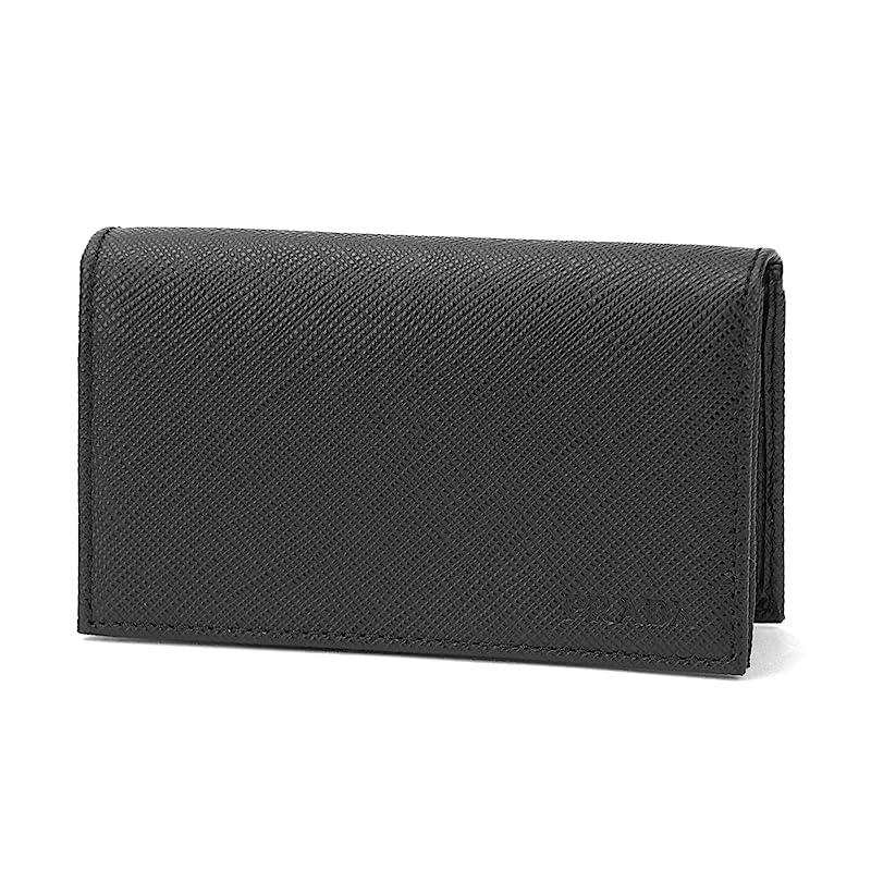 通常正統派ゴールデンプラダ(PRADA) 2MC122 PN9 F0002 カードケース(名刺入れ) ブラック 黒[並行輸入品]