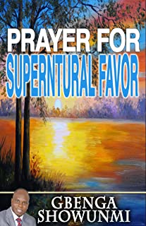 supernatural favor prayer