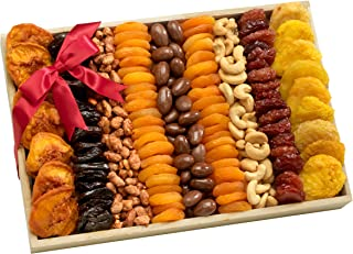 Broadway Basketeers Kosher Assorted Fruit and Nut Crate