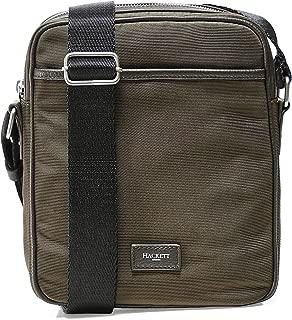 Hackett Men's Nylon Day Bag Green