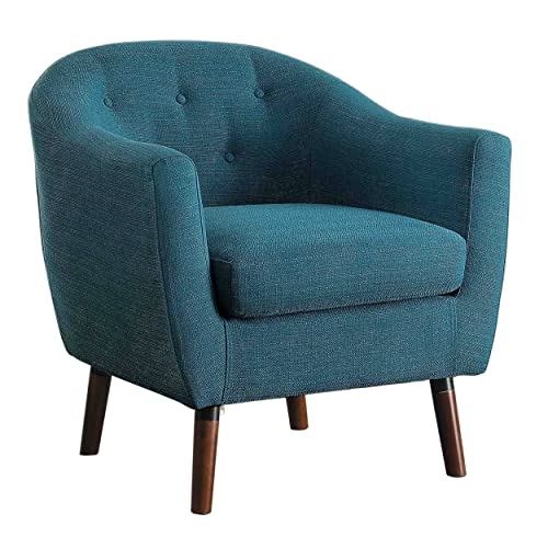 . Blue Accent Chair  Amazon com