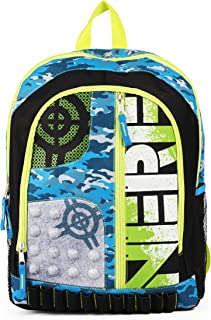 Nerf Blue and Green 16 inch Backpack School Bag
