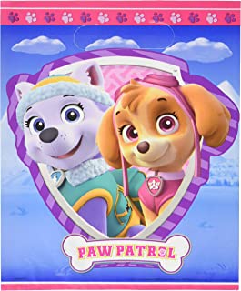 Unique Paw Patrol Girl Party Loot Bags, 8 Ct.