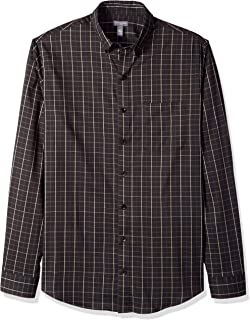 Van Heusen Flex Non Iron Stretch Long Sleeve Shirt Camisa con Cuello Abotonado para Hombre