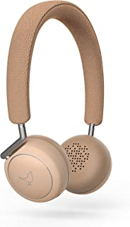 Libratone LP0030000EU5004 Q Adapt drahtloser Active Noice Cancelling On-Ear Kopfhörer (Bluetooth, 4-stufiges ANC, Touchbedienung) elegant nude