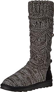 MUK LUKS Women's Jamie Crochette Boot Fashion, Various