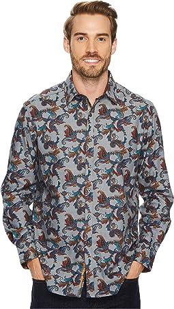Robert Graham - Massif Long Sleeve Woven Shirt