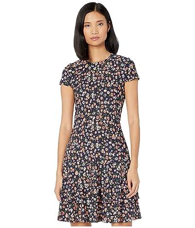 MICHAEL Michael Kors Garden Double Tier Dress (Coral Peach) Women