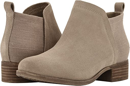 Desert Taupe Suede/Heritage Canvas Mix