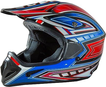 Fuel Helmets SH-OR3014 Graphic Off-Road Helmet, Multicolor, Small