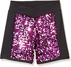 Gia Mia Dance Girls' Big Sequin Blockshort