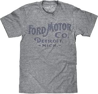Tee Luv Ford Big and Tall T-Shirt - Ford Motor Company Detroit Shirt