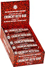 Crunchy Keto Bar 15x35g – High Fibre Low Carb All Natural No Sugar – Liquorice Estimated Price : £ 18,99