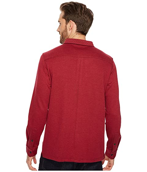 Knit Sleeve w Cuff Three Polo Long Pocket Collar Fancy Button BUGATCHI q5xP0wH8H