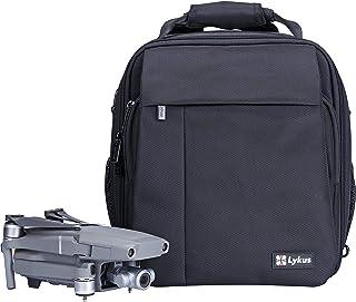 Lykus M1 防撥水旅行バックパック DJI Mavic 2 Pro/Zoom、Mavic Air 2とMavic Miniに適用 フライモアコンボと他の物を完璧に収納 リュックサック/ケース/ショルダーバッグ/斜めかけバッグの4wayデザイン