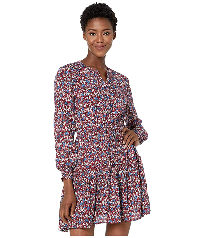 Lucky Brand  Carrie Dress (Red Multi) Womens Dress
