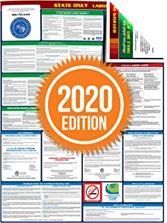 2020 Utah State All-in-One Labor Law Poster - 24