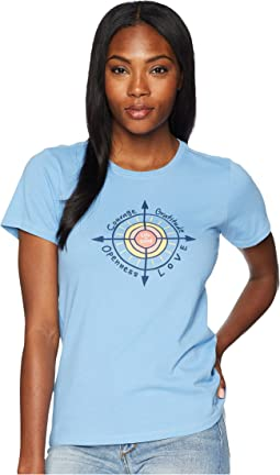 Sun Compass Crusher Tee