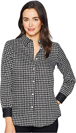 Non Iron Cotton Sateen Long Sleeve Shirt