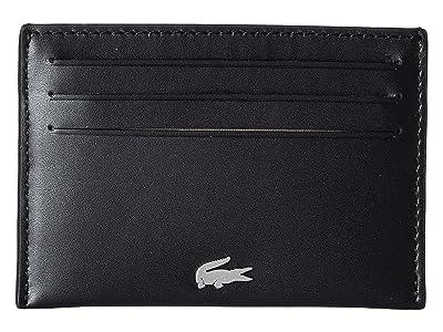 Lacoste FG Credit Card Holder (Black) Credit card Wallet