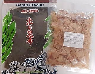 Dashi Kombu Zutaten Dried Kelp, Konbu Braunalge, Katsuobushi