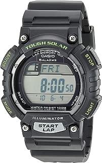 Men's STL-S100H-1AVCF Tough Solar Runner Black Watch