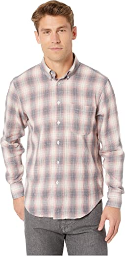 Plaid Double Cloth/Grey/Pink