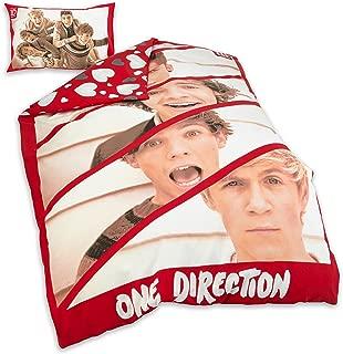 One Direction 1d Boyfriend Single Duvet Quilt Cover Bedding Set Official Product