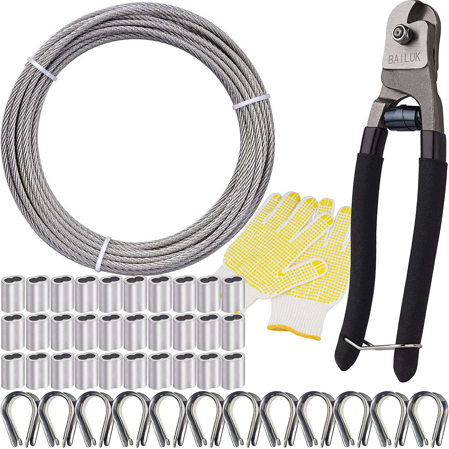 T316 Stainless Steel Max 72% OFF Cable with Cutter Aircraft Rope Wire shopping