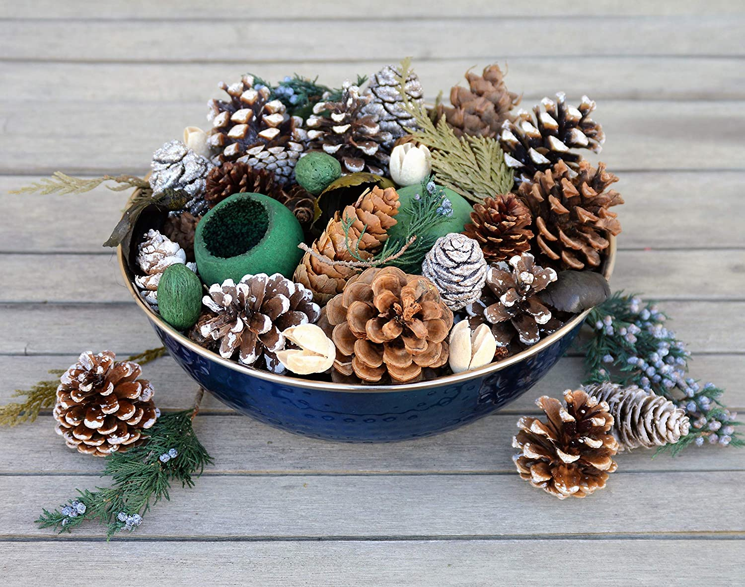 Manu Home Holiday Pine Potpourri 1 year warranty Beautiful San Francisco Mall Steel Stainless in a