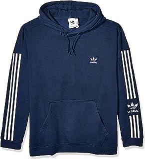 adidas Originals Men`s Lock Up Hooded Sweatshirt