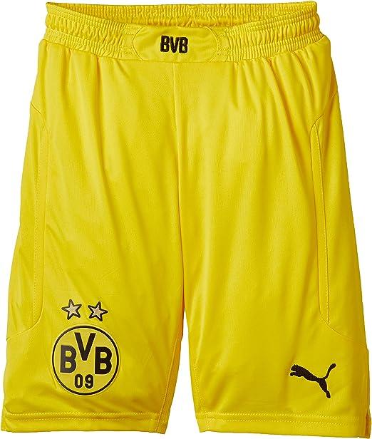 PUMA - Pantaloncini da Bambino, Borussia Dortmund (BVB) : Amazon ...