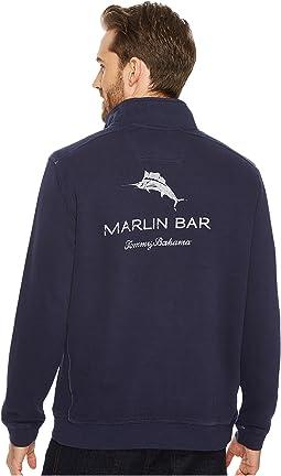 Tommy Bahama - Nassau Marlin Bar 1/2 Zip