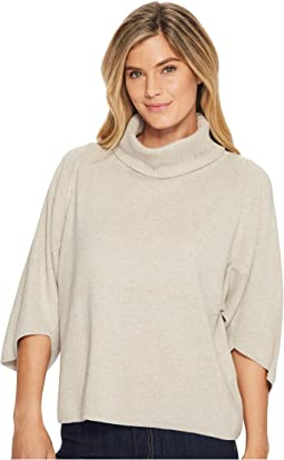 Ellen Tracy - Envelope Sleeve Turtleneck Sweater